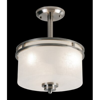 Cobalt 3-Light Semi Flush Mount