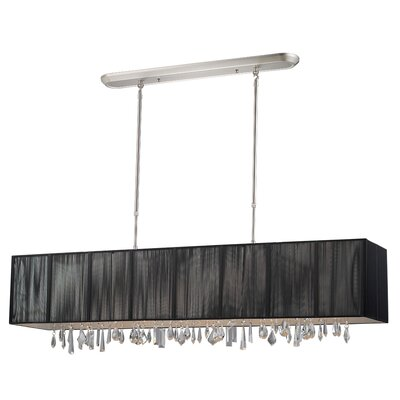 Imes 5-Light Pendant Shade: Black