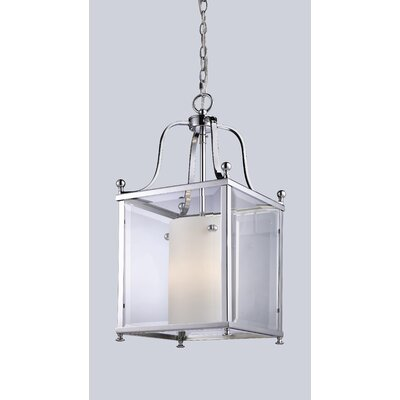 Fairview Foyer Pendant Size / Finish: 23.75 H x 11 W / Chrome