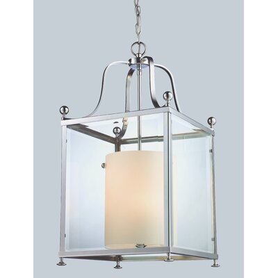 Fairview Foyer Pendant Size / Finish: 29.5 H x 15.5 W / Chrome
