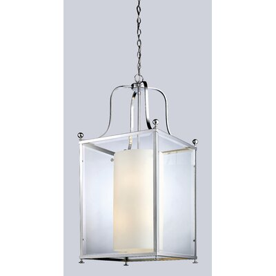 Fairview Foyer Pendant Size / Finish: 43.5 H x 18.5 W / Chrome