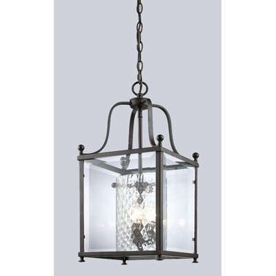 Fairview Foyer Pendant Size / Finish: 23.75 H x 11 W / Bronze