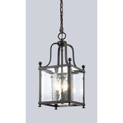 Cullum Foyer Pendant Size / Finish: 19 H x 8.25 W / Bronze
