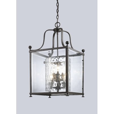 Fairview Foyer Pendant Size / Finish: 29.5 H x 15.5 W / Bronze