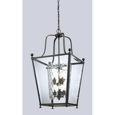 Cully 6-Light Foyer Pendant Finish: Bronze