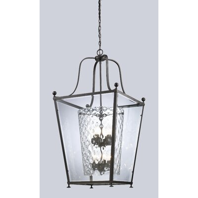 Cully 8-Light Foyer Pendant Finish: Bronze
