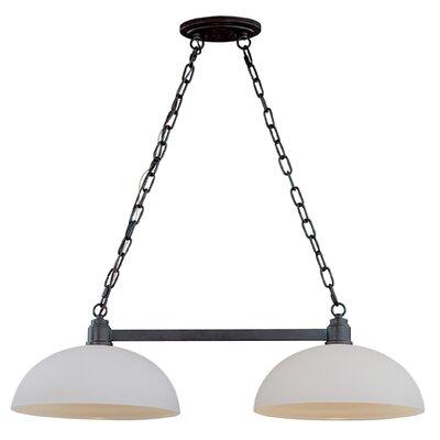 Chelsey 2-Light Pool Table Light Finish: Dark Bronze