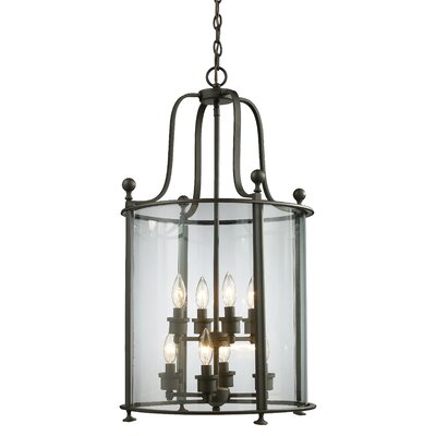 Wyndham 8-Light Foyer Pendant Finish: Bronze