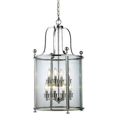 Lucah 8-Light Foyer Pendant Finish: Chrome