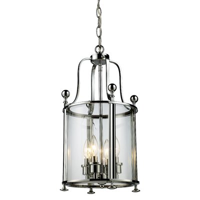 Lucah 4-Light Foyer Pendant Finish: Chrome
