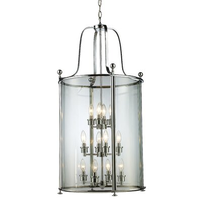 Lucah 12-Light Foyer Pendant Finish: Chrome