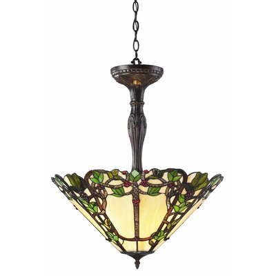Vidonia 3-Light Inverted Pendant