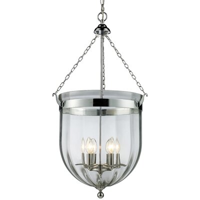 Warwick 6-Light Foyer Pendant Finish: Chrome