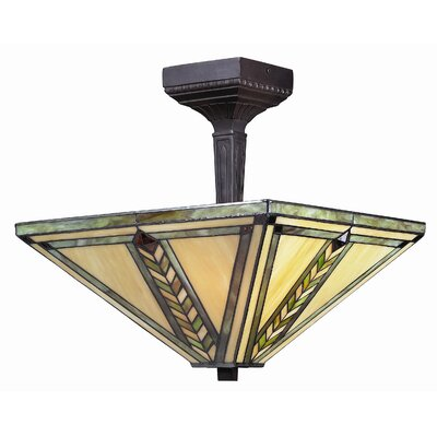 Shalimar 2-Light Semi Flush Mount