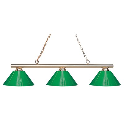 Sharp Shooter 3-Light Billiard Pendant