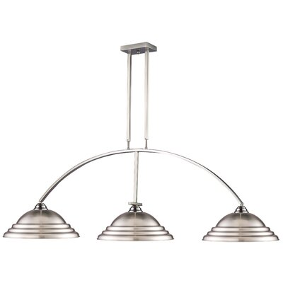Martini 3-Light Kitchen Island Pendant