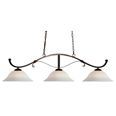 Howler 3-Light Kitchen Island Pendant