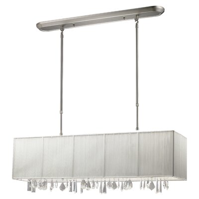 Imes 4-Light Pendant Shade: White