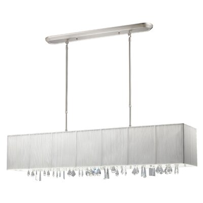 Imes 5-Light Pendant Shade: White