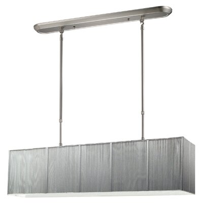 Imes 4-Light Pendant Shade: Silver