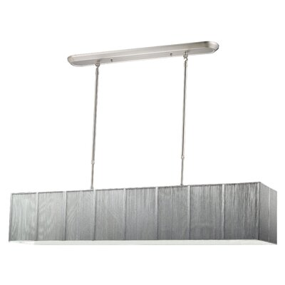 Imes 5-Light Island / Billiard Light Shade: Silver
