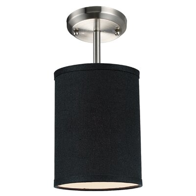 Boese 1-Light Mini Pendant Finish: Black