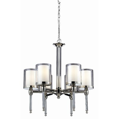 Argenta 6-Light Shaded Chandelier