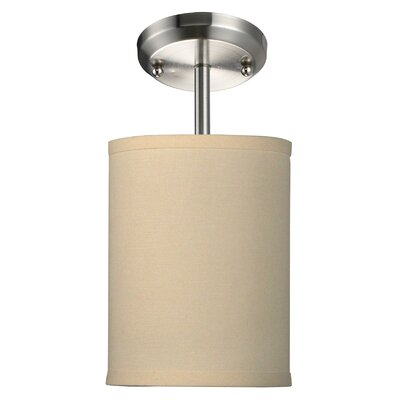 Boese 1-Light Mini Pendant Finish: Off White