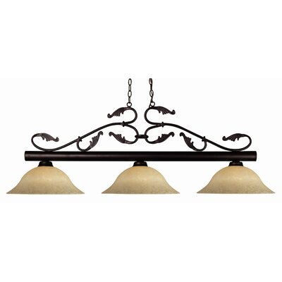 Beechwood 3-Light Pool Table Light