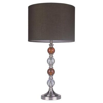 Z-Lite Portable Light Table Lamp in Satin Nickel at Sears.com
