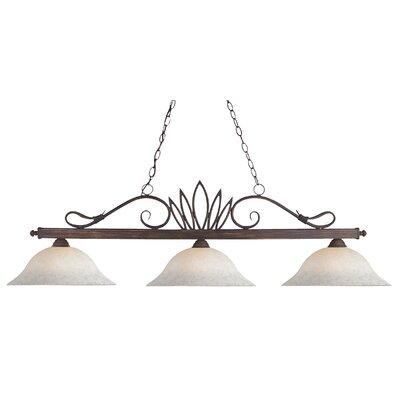 Crown 3-Light Pool Table Light