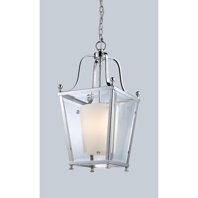 Cully 3-Light Foyer Pendant Finish: Chrome