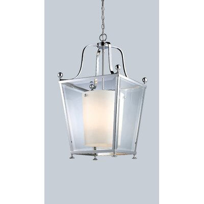 Cully 4-Light Foyer Pendant Finish: Chrome