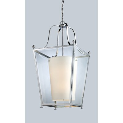 Cully 6-Light Foyer Pendant Finish: Chrome