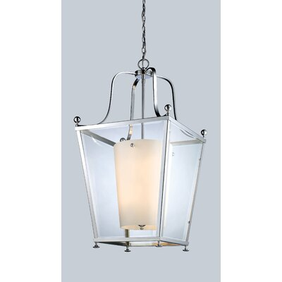 Cully 8-Light Foyer Pendant Finish: Chrome