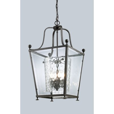 Cully 3-Light Foyer Pendant Finish: Bronze