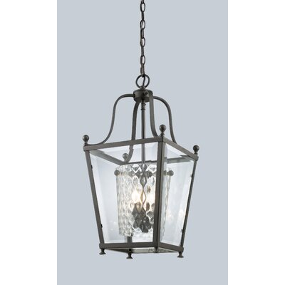 Cully 4-Light Foyer Pendant Finish: Bronze