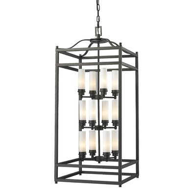 Humiston 12-Light Foyer Pendant Finish: Bronze
