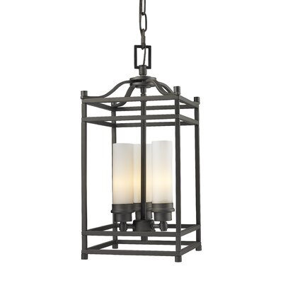 Altadore 3-Light Metal Foyer Pendant Finish: Bronze