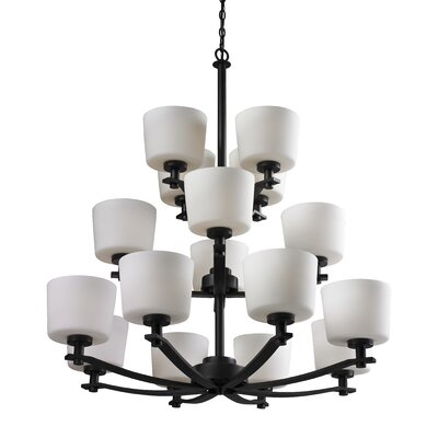 Arlington 16-Light Shaded Chandelier