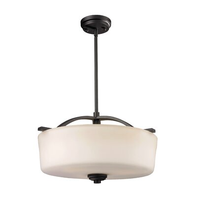 Arlington 3-Light Drum Foyer Pendant