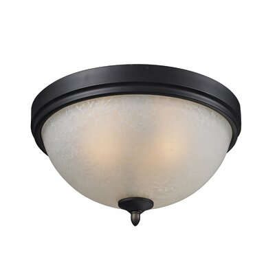 Hummel 2-Light Flush Mount