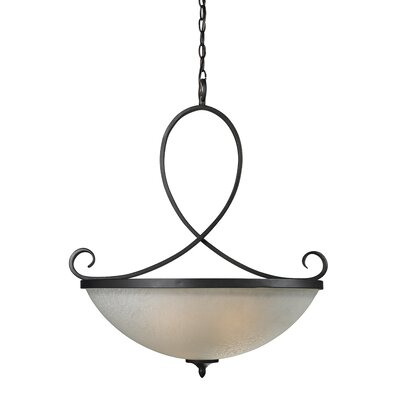 Arshe 3-Light Inverted Pendant