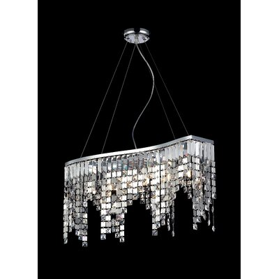 Nyssa 6-Light Kitchen Island Pendant