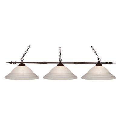 Beech Hill 3-Light Pool Table Light