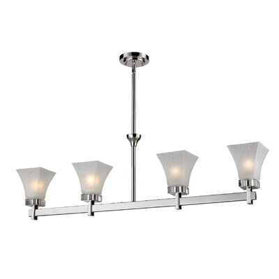 Pershing 4-Light Kitchen Island Pendant