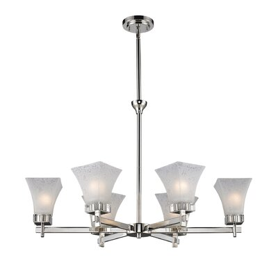 Pershing 6-Light Shaded Chandelier