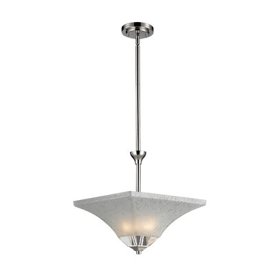 Pershing 2-Light Inverted Pendant