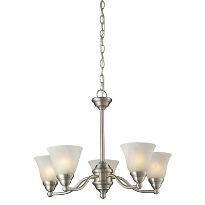Athena 5-Light Shaded Chandelier