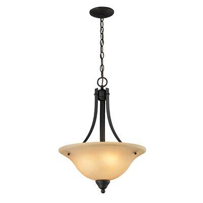 Athena 3-Light Bowl Pendant